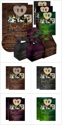 Rustic Heart Wedding Collection