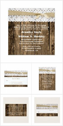 Rustic Wedding Collection
