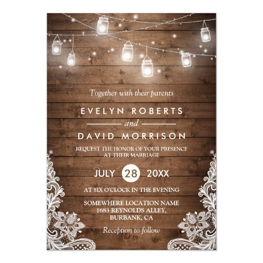 Rustic Country Wedding Invitations For Simple Of Your Invitation Templates Using Amazing Design Ideas