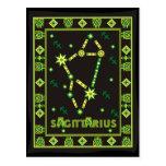 Sagittarius Constellation Postcard