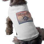 Sail On pet clothing
