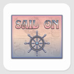 Sail On stickers