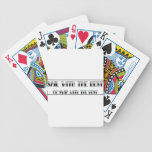 Sail With The Best, Or Swim With The Rest playing cards