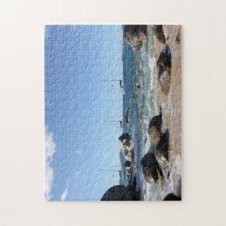 Sailing Boats at the Baths, BVI Jigsaw Puzzles