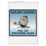 Sailing, Sailing - Over The Bounding Main cards