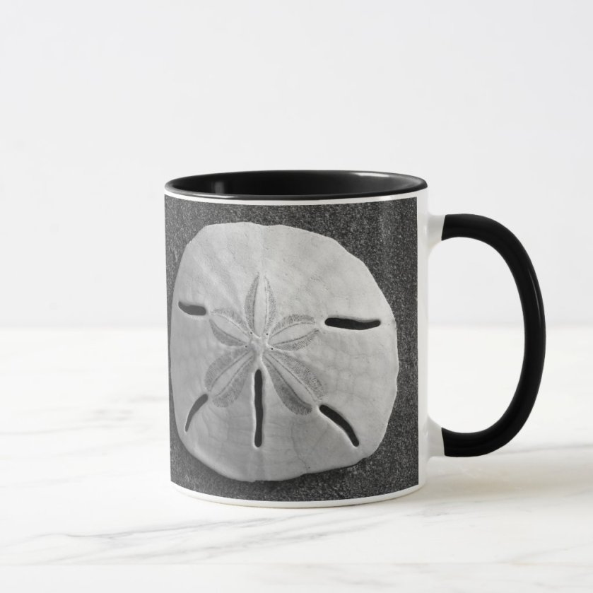 Sand Dollar Seashell Sand Beach Mug