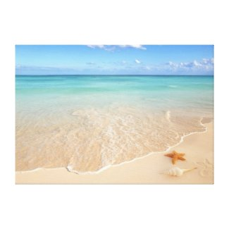Sand & Sea Gallery Wrapped Canvas