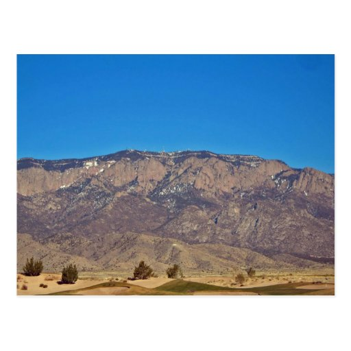 Sandia Mountain Albuquerque New Mexico 2 Postcard Zazzle