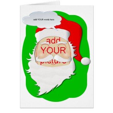Santa Carnival Cutout card