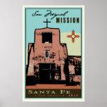 Santa Fe, New Mexico, USA Poster