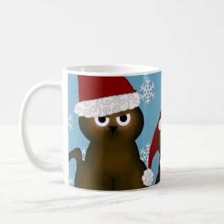 Santa Kitties Mug
