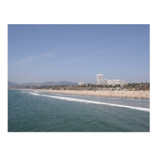 Santa Monica Beach Postcards