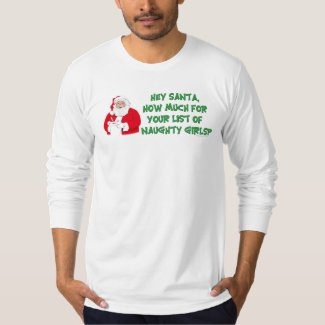 Santa's Naughty List T-Shirt