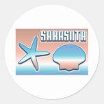 Sarasota Shells stickers