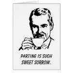 Sarcastic Divorce/Separation Support Card