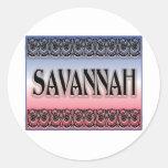Savannah Scrollwork stickers