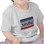 Savannah Scrollwork t-shirts