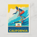 Save the Date | California Invitation Postcard