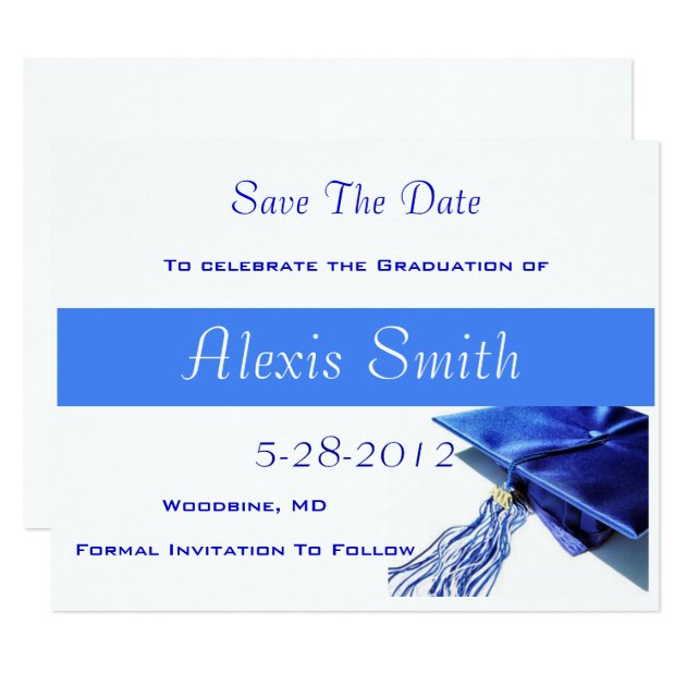Save Date Card Size