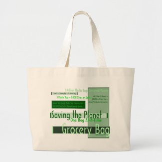 Saving the Planet Grocery Bag