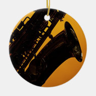Saxophone Picture Ornament