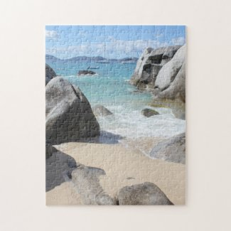 Scenic Beach at The Baths on Virgin Gorda, BVI Puzzles