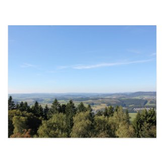 Scenic Sauerland View from Wilzenberg Postcards