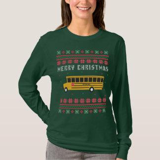 School Bus Ugly Christmas Sweater