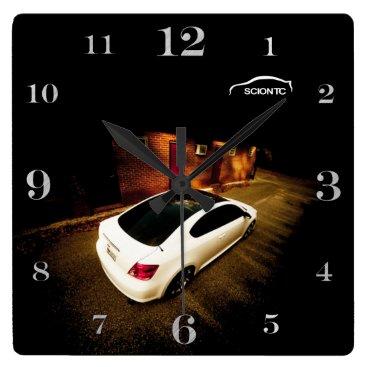 Scion TC Square Wall Clock
