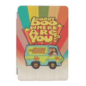 "Scooby-Doo | ""Where Are You?"" Retro Cartoon Van iPad Mini Cover"