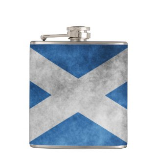Scotland Grunge- Saint Andrew's Cross Flasks
