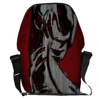 Scratch My Back I'll Scratch Yours (messanger bag) Messenger Bag