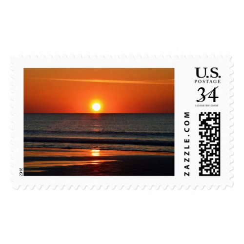 Seabrook Island Beach Sunrise Stamp