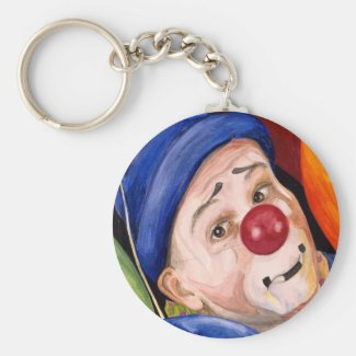 Sean Carlock Clown Key Chains