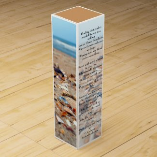Seashells on the Beach Wine Gift Box Wine Gift Boxes