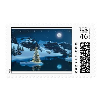 Seasons Greetings stamp