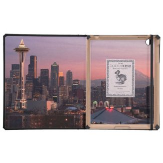 Seattle from Kerry Park. Cover For iPad