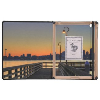 Seattle Washington Downtown Skyline Cover For iPad