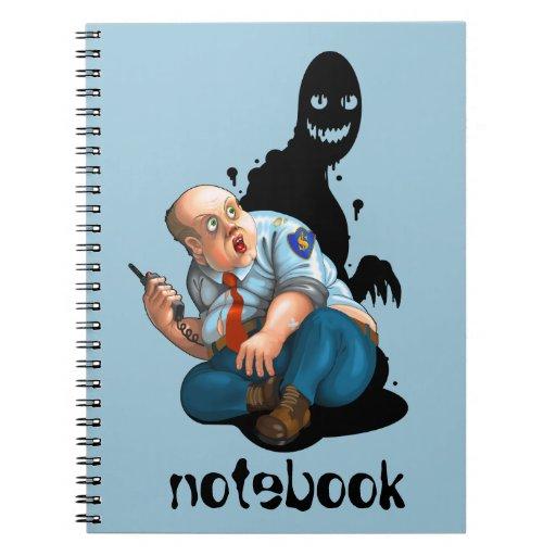 security guard notebook   Zazzle