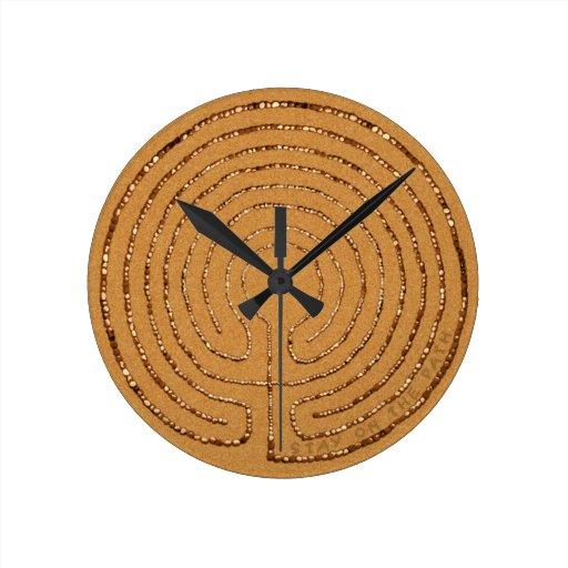 Labyrinth Clock