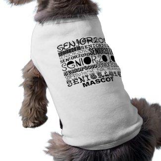 Senior 2010 Mascot Dog Shirt petshirt