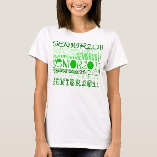 Senior 2011 - Green - Shirt shirt