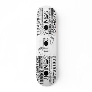 Senior 2011 - Pro Skateboard skateboard