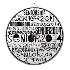 Senior 2014 Dart Board