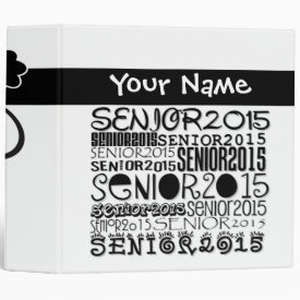 Senior 2015 3-Ring Binder (2-inch)