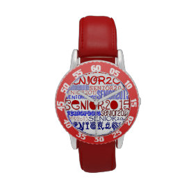 Senior 2015 Watch (Red White & Blue)
