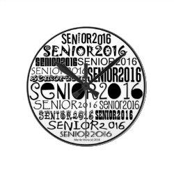 Senior 2016 Clock