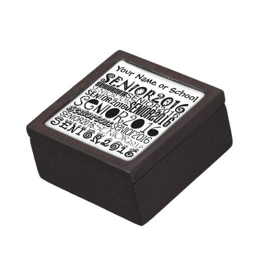 Senior 2016 Magnetic Lid Box (Personalize)