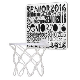 Senior 2016 Mini Basketball Hoop