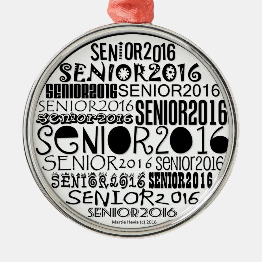 Senior 2016 Ornament